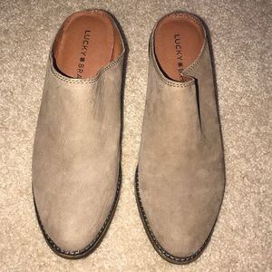 Lucky brand mule bootie